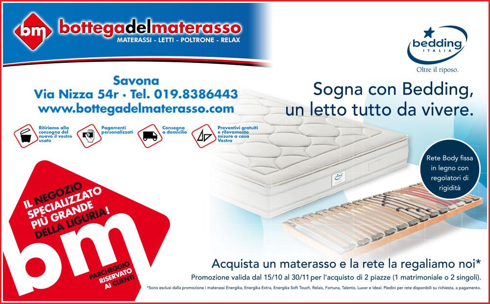 Promozioni Reti E Materassi.Sogna Con Bedding Un Letto Tutto Da Vivere Bottega Del Materasso
